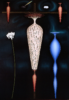 Cruzifixion, year: 1988/89, size: 230x160cm, material: oil on canvas, photographer: n/a